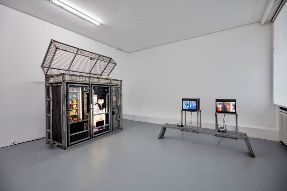 Installation View, Karl Philips, basis 2016, Foto: Günther Dächert