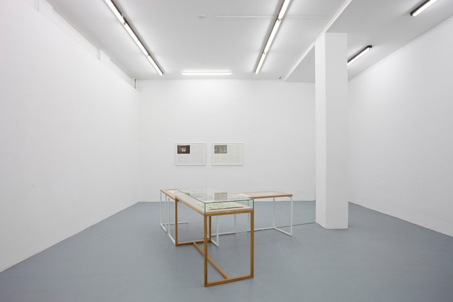 Installation View, Marianna Christofides - But see, even that is only appearance, basis 2015, Foto: Günther Dächert