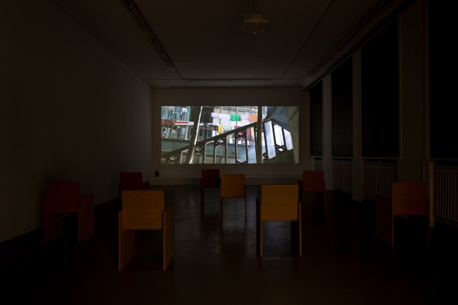 Installation view The Watson's Hotel, basis 2020, Foto: Nathalie Zimmermann