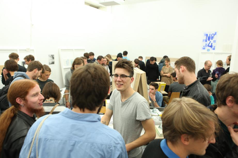 First Issue: Self-Publishing Fair for Design and Art, photo: Christiane Feser