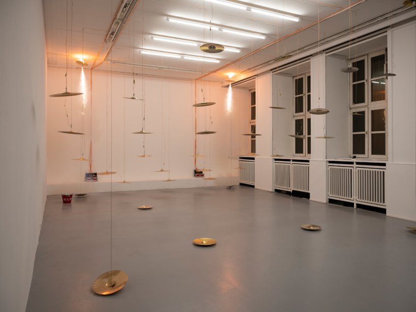 Installation view, INHABITING basis, 2020, Lea Letzel, Foto: Katrin Binner