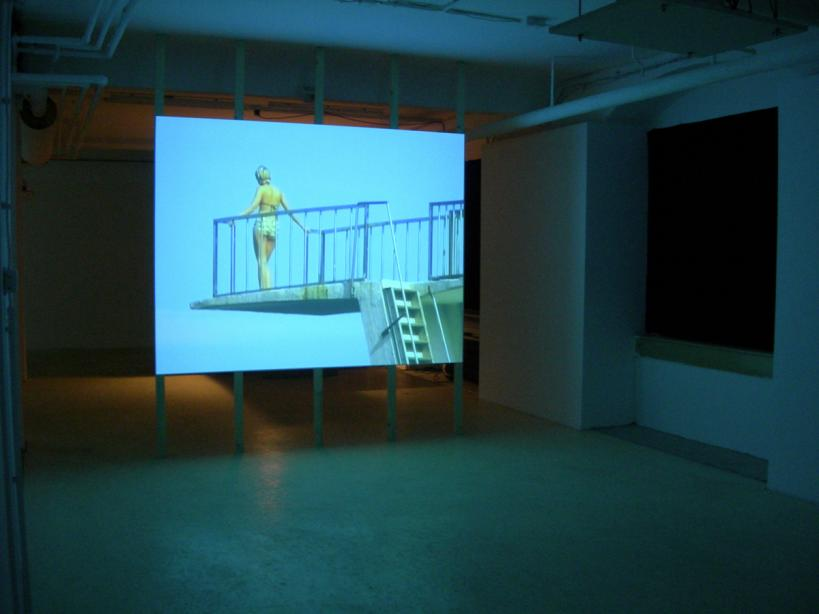 Ausstellungsansicht, Johanna Billing, Where She Is At, 2001, basis 2006