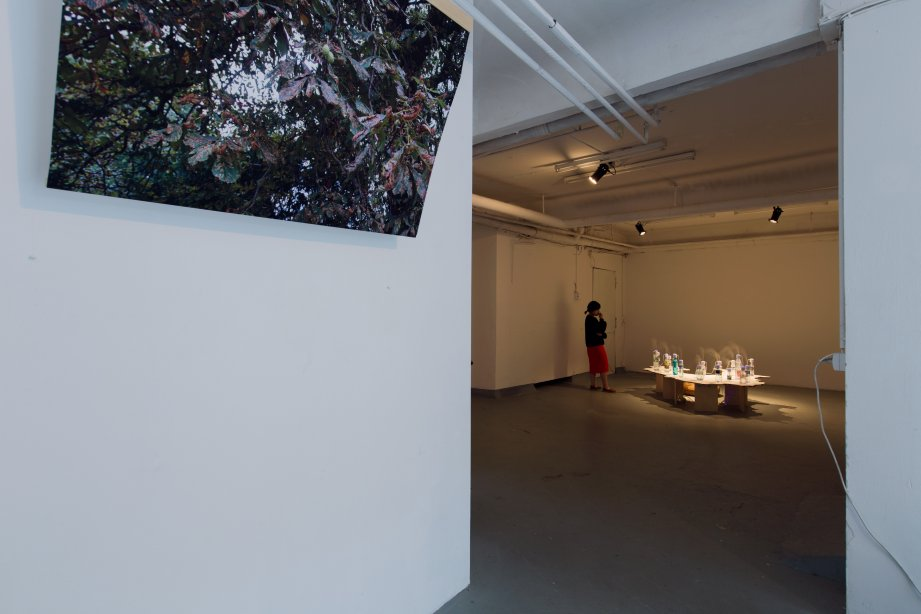 Installation view, The moment's already passing - Soohyun Koo, basis 2017